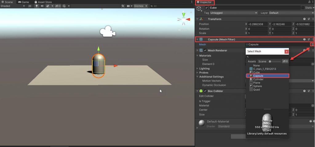 Unity Mesh Filter Kullanımı