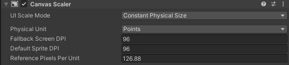 Reference Pixels Per Unit Ayarı