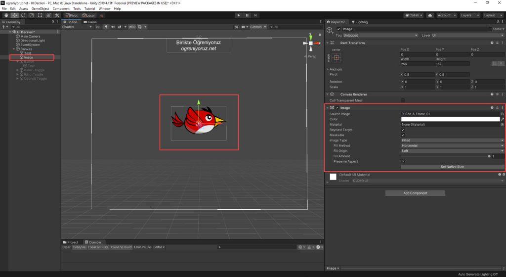 Unity UI Image