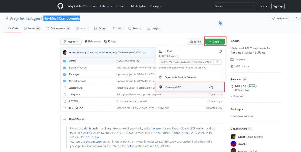 GitHub Dosya İndirme
